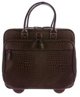 Bric's Embossed Rolling Carry-On