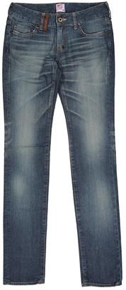 PRPS Blue Cotton Jeans