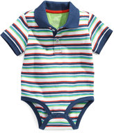 First Impressions Baby Bodysuit, Baby Boys Striped Polo Sunsuit