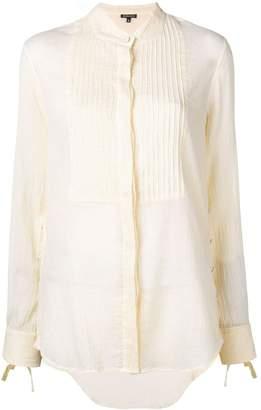 Ann Demeulemeester tuxedo shirt