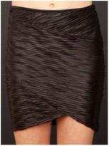 Torn By Ronny Kobo Casey Pleated Mini Skirt