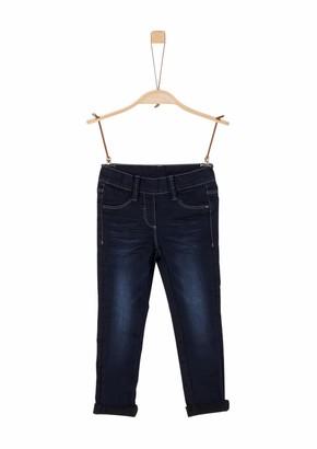 S'Oliver Girl's 53.911.71.3526 Jeans