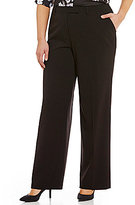 Calvin Klein Plus Madison Straight-Leg Pants