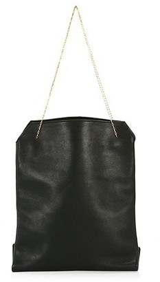 The Row Small Lunch Leather Bag