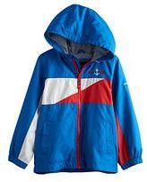 London Fog Toddler Boy Colorblocked Jersey-Lined Hooded Jacket