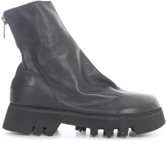 Guidi Blake Ankle Bopts Back Zip Sole Rubber