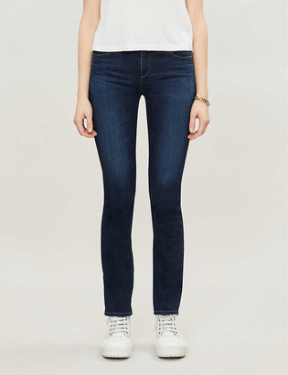 AG Jeans Harper straight high-rise jeans