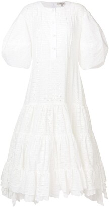 Natasha Zinko Eyelet Detail Dress