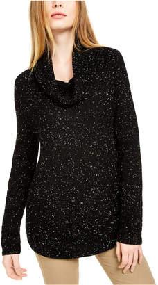 Calvin Klein Spacedyed Cowl-Neck Sweater