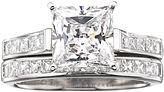 JCPenney FINE JEWELRY DiamonArt Cubic Zirconia 3 3/4 CT. T.W. Bridal Ring Set