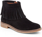 Lucky Brand Galley Southwestern Style Fringe Suede Booties