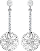 Links of London Sterling silver dream catcher drop earrings