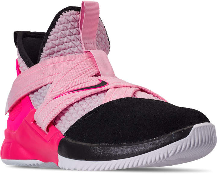 info for 34d50 16e0c Boys' Big Kids' LeBron Soldier 12 Basketball Shoes