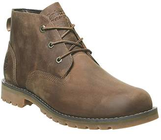 Timberland Larchmont Chukka Waterproof Boots Dark Brown Full Grain
