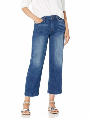 Paige Women's Nellie Culotte Relaxed Fit Trouser Leg Ankle Jean
