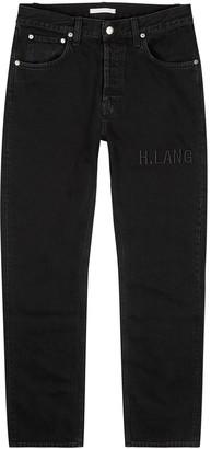 Helmut Lang Black straight-leg jeans