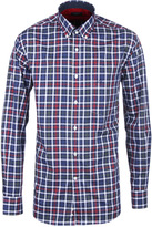Paul & Shark All Over Checked Long Sleeve Shirt