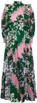 Erdem Darna printed ruffle-trimmed gown