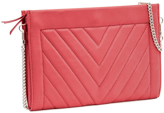 Leigh Ann Barnes Gamechanger Classic Quilted Zip Bag, Red