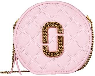 Marc Jacobs Round Crossbody (Powder Pink) Handbags