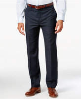 Lauren Ralph Lauren Men's Classic-Fit Blue Plaid Flannel Dress Pants