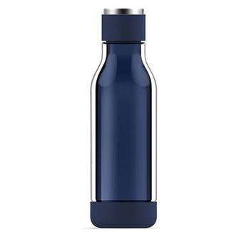 Asobu Inner Peace Glass Water Bottle - Blue