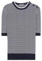Nina Ricci Striped Cotton Sweater