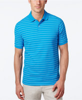 Club Room Men's Big and Tall Performance UV Protection Striped Polo