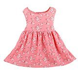 Hot Baby Dress! AMA(TM) Toddler Kids Baby Girls Floral Sleeveless Princess Party Tutu Dress (3T, Pink)