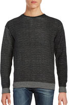 Selected Crewneck Marled Knit Sweater