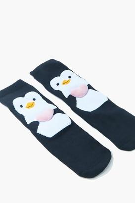 Forever 21 Penguin Crew Socks