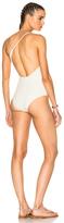Alix Reversible Seville Swimsuit in White.
