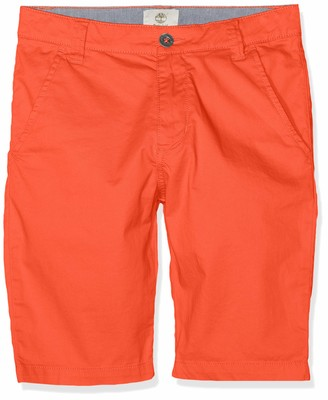 Timberland Boy's Bermuda Chino fit Shorts Blue (Amiral 841)10 Years (Taille fabricant:10A)