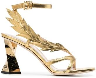 Pollini Laurel sculpted-heel 95mm sandals