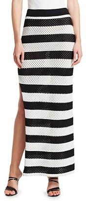 Dodo Bar Or Margaret Stripe Knit Maxi Skirt
