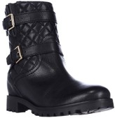 Kate Spade Samara Quilted Motorcycle Boots, Black, 8 US