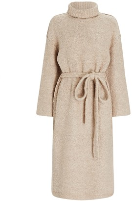 STAUD Chalet Turtleneck Sweater Dress