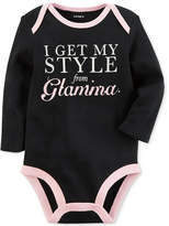 Carter's Style From Glamma Cotton Bodysuit, Baby Girls (0-24 months)