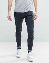 G-star 5620 3d Zip Knee Super Slim Trouser