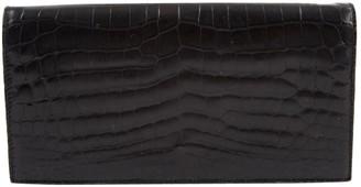 Christian Dior Black Crocodile Clutch bags