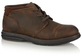 Skechers Brown Leather Mid Top Lace Up Boots