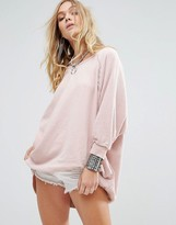 Free People My Pullover Relaxed Sweater