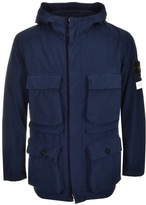 Stone Island David Tela Jacket Navy