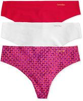 Calvin Klein Seamless Thong 3-Pack QD3558