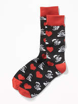 Old Navy Looney Tunes Pepé Le Pew Crew Socks for Men