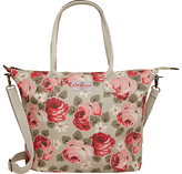 Aubrey Rose Tall Zipped Tote, Stone