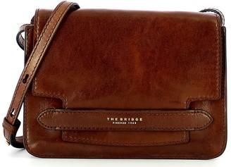 The Bridge Brown Leather Lucrezia Shoulder Bag