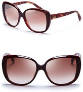 Dior Taffetas Textured Oversized Sunglasses
