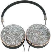 Mira Mikati 'cartoon characters' headphones - women - Leather/Brass - One Size