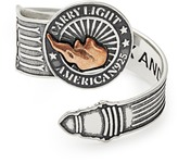 Alex and Ani LIBERTY COPPER | CARRY LIGHTTM Spoon Ring, Large